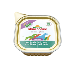 ALMO NATURE Daily Menu BIO Dog Jagnięcina - szalka 100g