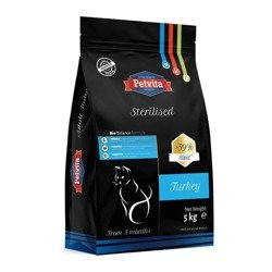 PETVITA Sterilised Cat - Turkey 5kg