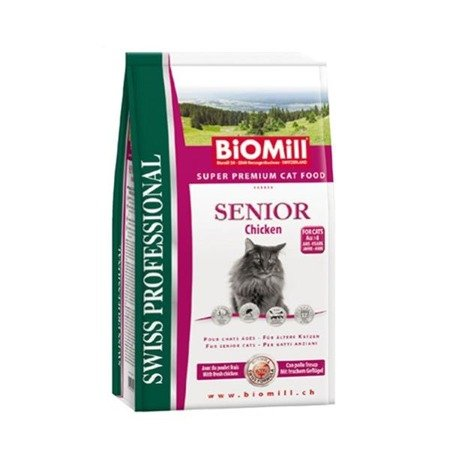 BIOMILL Swiss Professional Senior Chicken & Rice 1,5kg